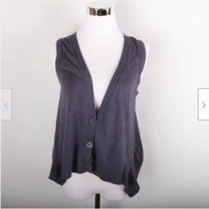 American Eagle Sleeveless Cardigan Sweater Mauve